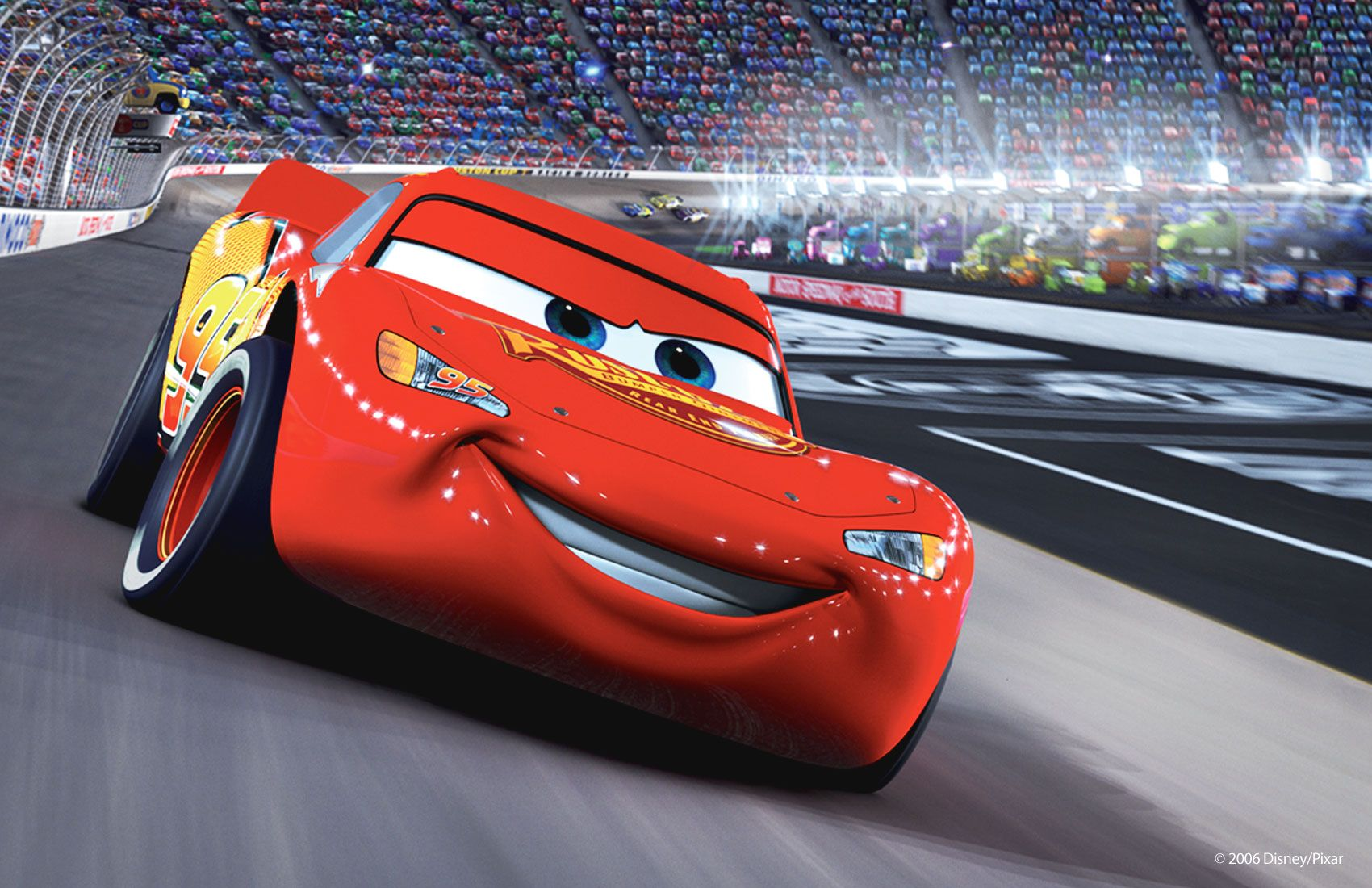 Pixar Cars Car Driving Another Car