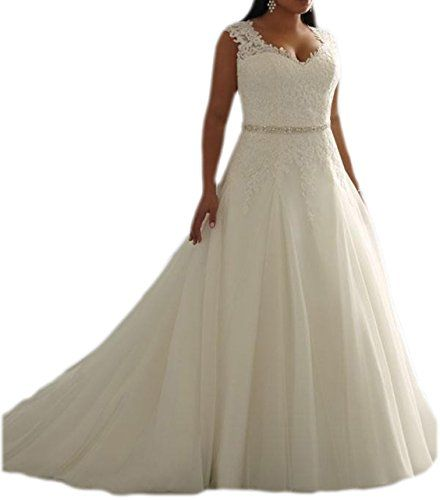Heartgown White Lace Plus Size Bridal Gowns Long Sweethea... http ...