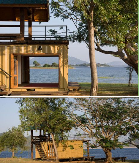 #Shipping #Container Cabana: Found-Objects Jungle Retreat #jsiglobal