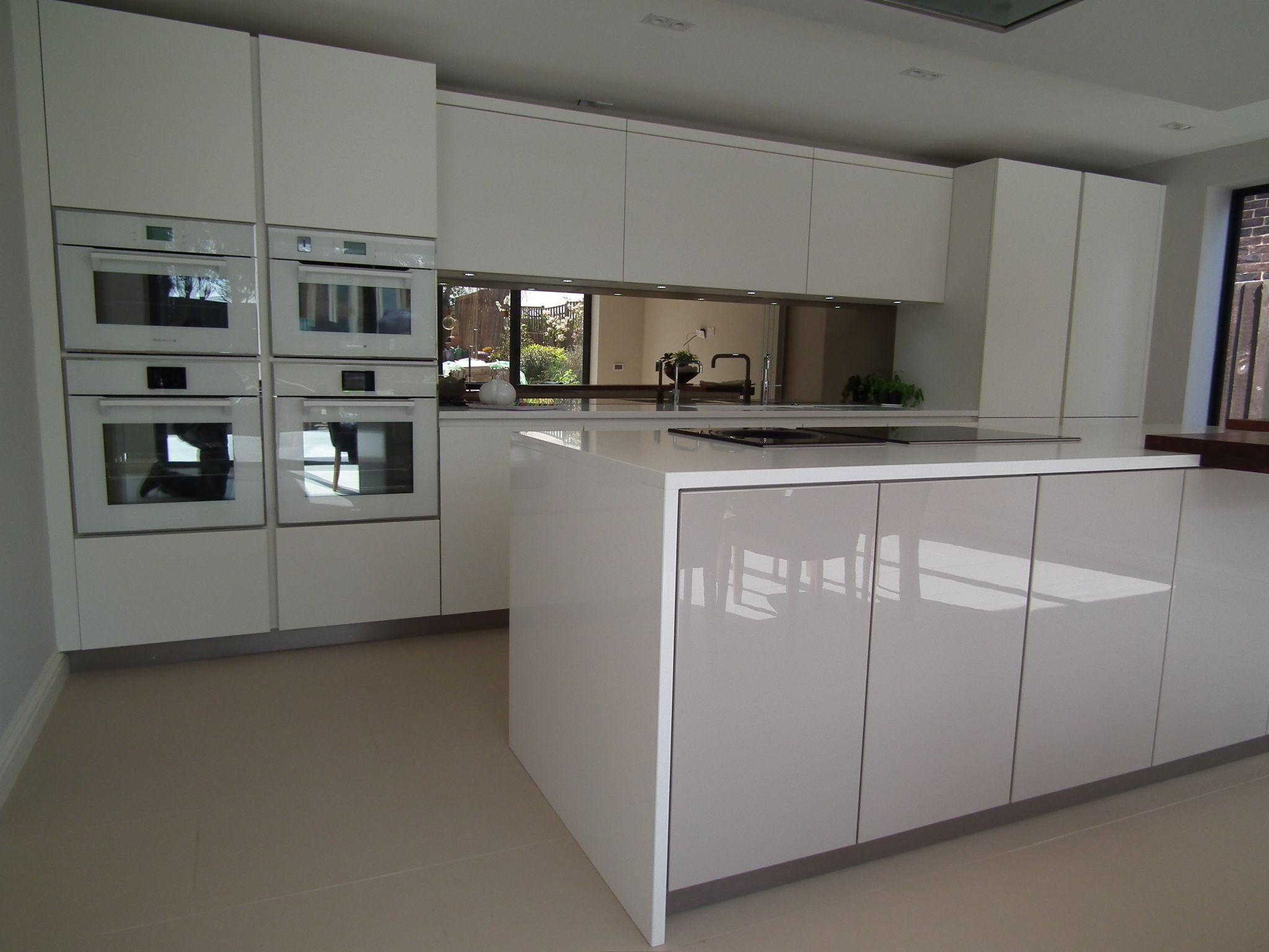 De dietrich white glass appliances www.ptckitchens.co.uk | Kitchens ...