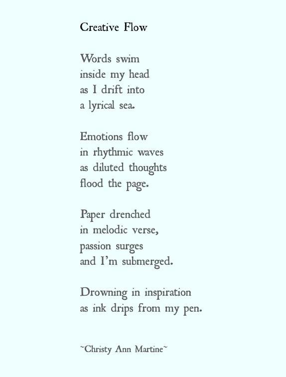 Creative Flow Words Swim Inside My Head As I Drift Into A Lyrical Sea Poetry Poems Writing Inspiration Though Writing Lyrics Writing Inspiration Lyric Poem