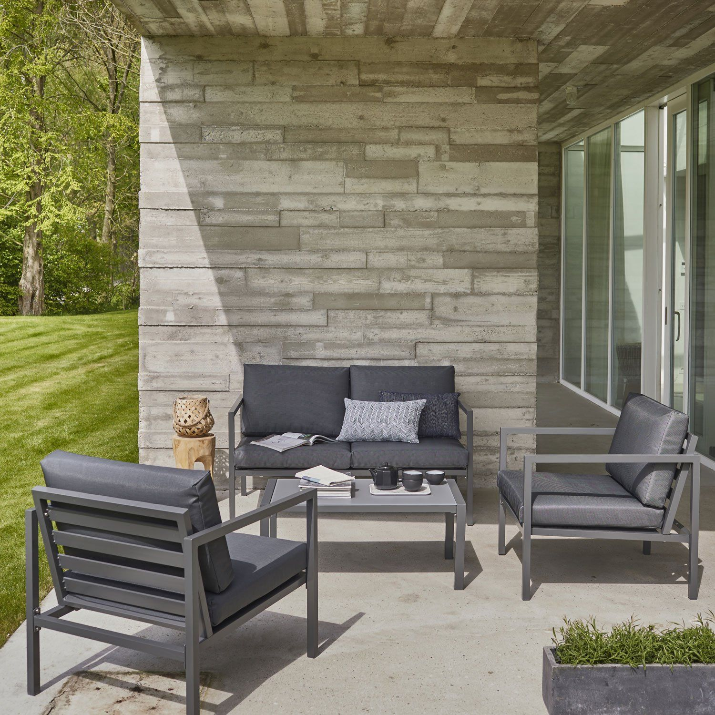 impressionnant salon bas de jardin aluminium | Décoration ...