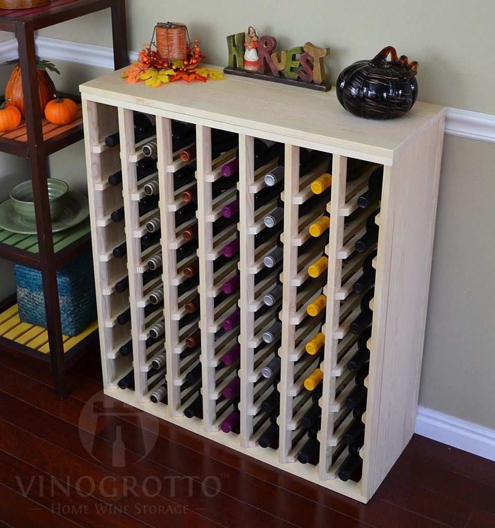 56 Bottle Premium Table Wine Rack 12 Depth Wine Rack Wine Rack Cabinet Wine Storage