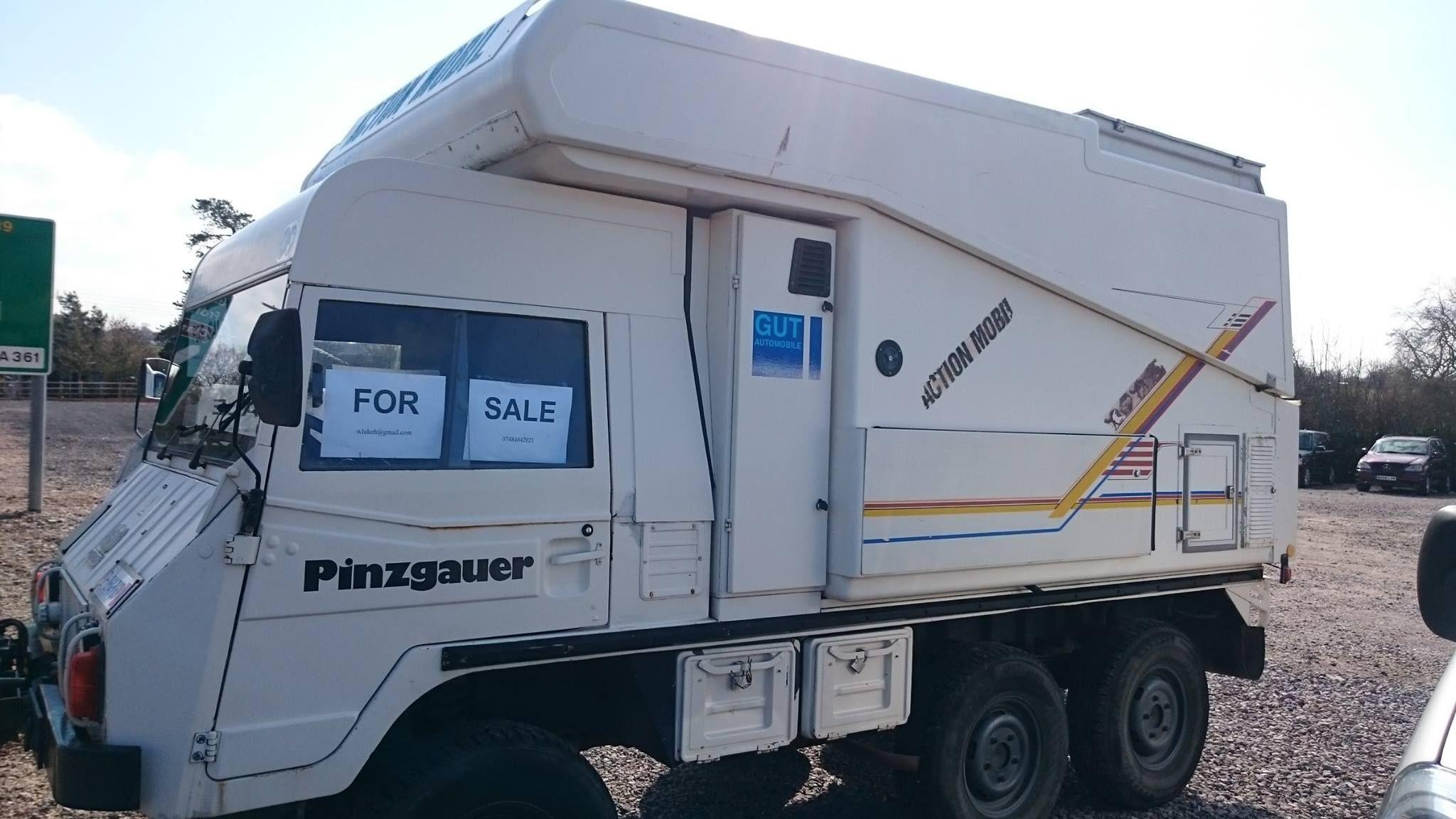 Action Mobil Pinzgauer 6x6 Camper | Just fun  | Recreational