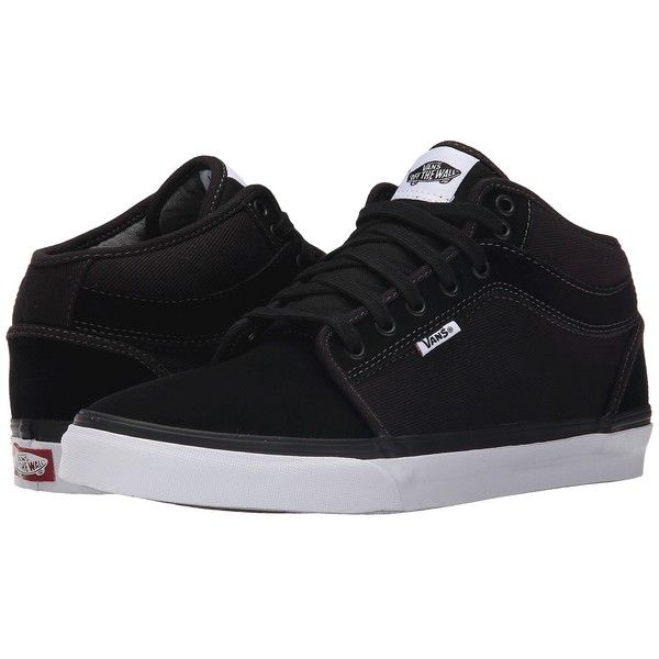 Low prices -  Vans Chukka Midtop Mens Shoes Distortion Black/White