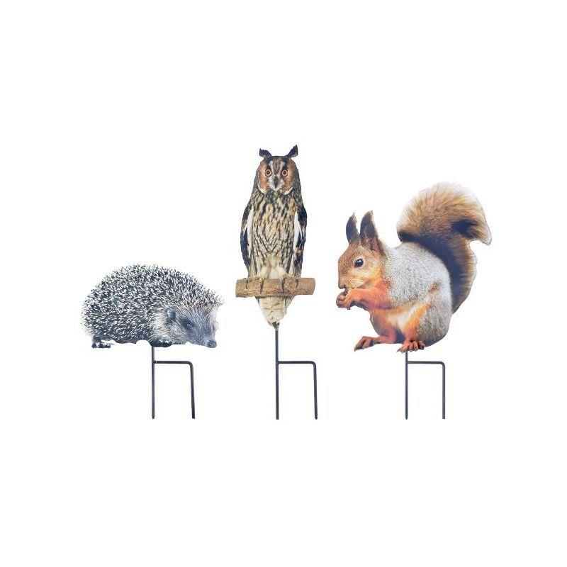 Animaux de la forêt à planter Hibou – OUTILS-ET-NATURE.FR