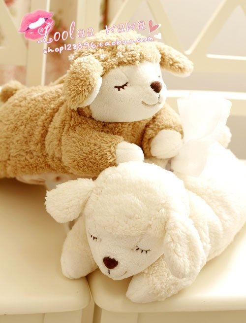 Cute car accessories Teddy creative cartoon dog Tissue pumping ...