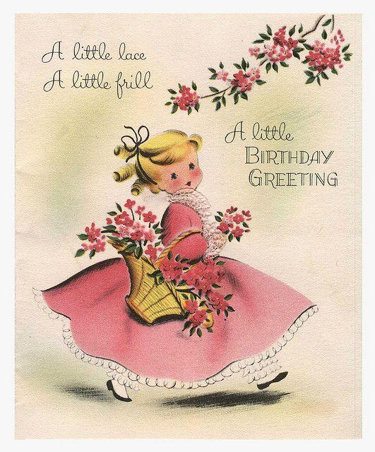 Happy Happy Birthday Lisa Vintage Birthday Cards Happy Birthday Vintage Vintage Greeting Cards