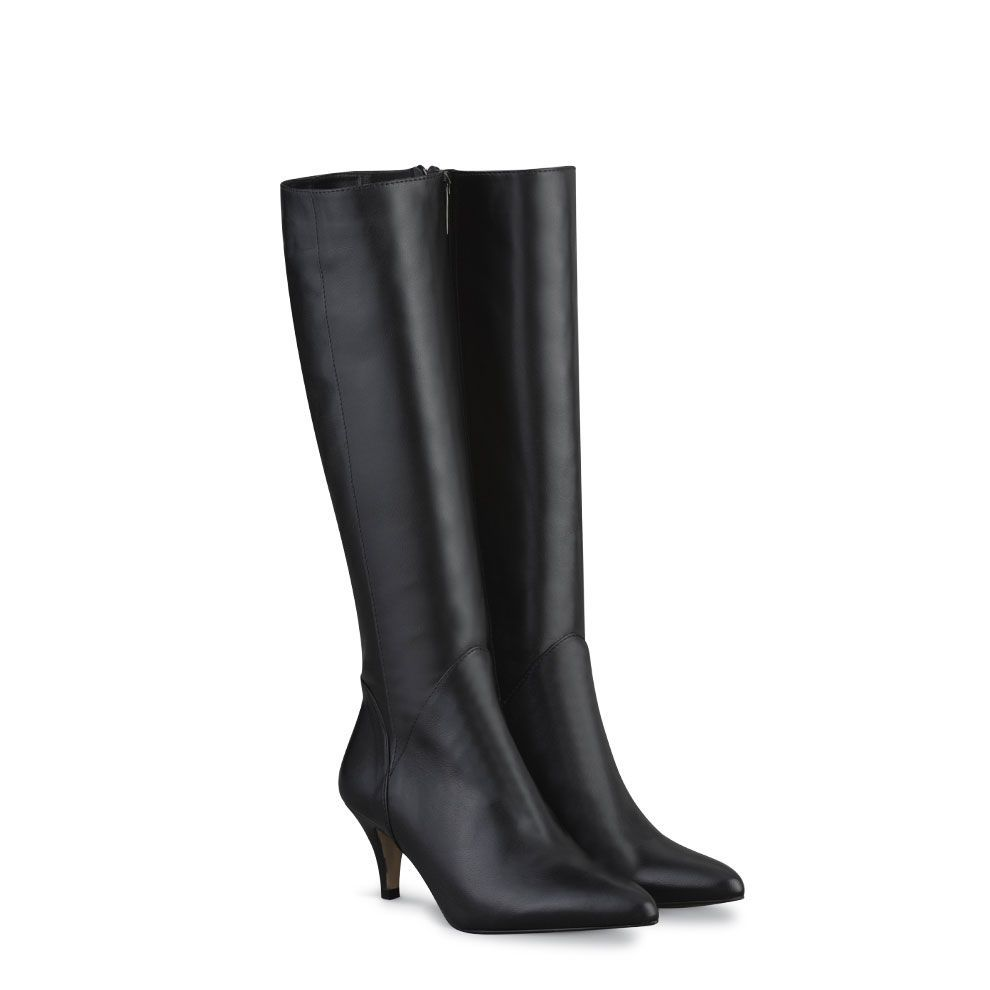 cassini black fitted women s boots duo us finally a company who