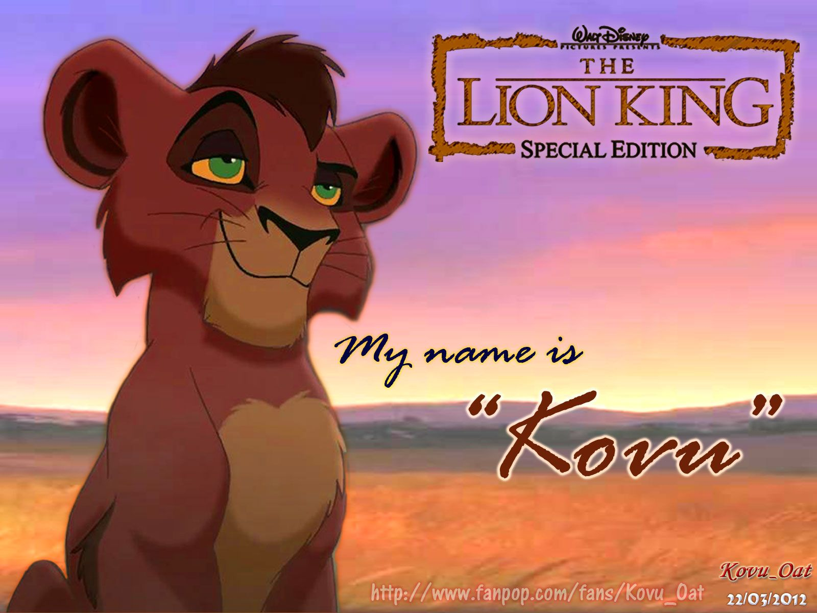 the lion king 2 kovu confronts simba