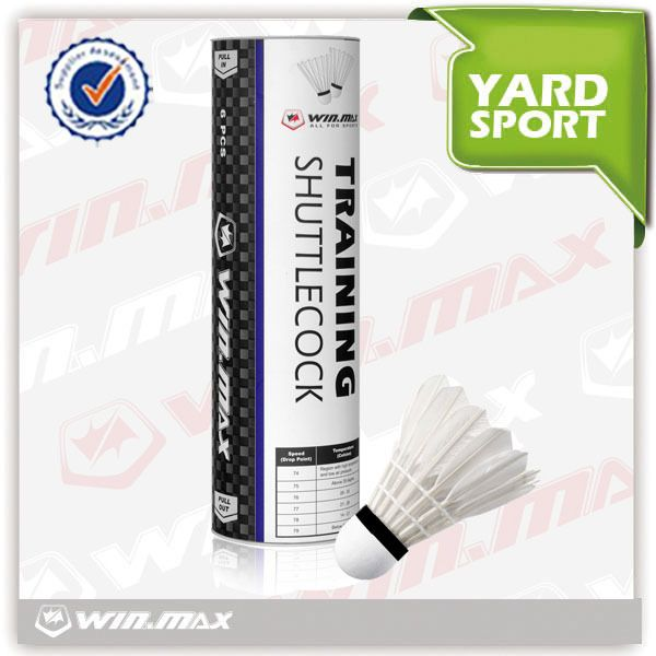 Winmax Brand Aeroplane Cheap Badminton Shuttlecock Shuttlecocks Racquet Sports Sports