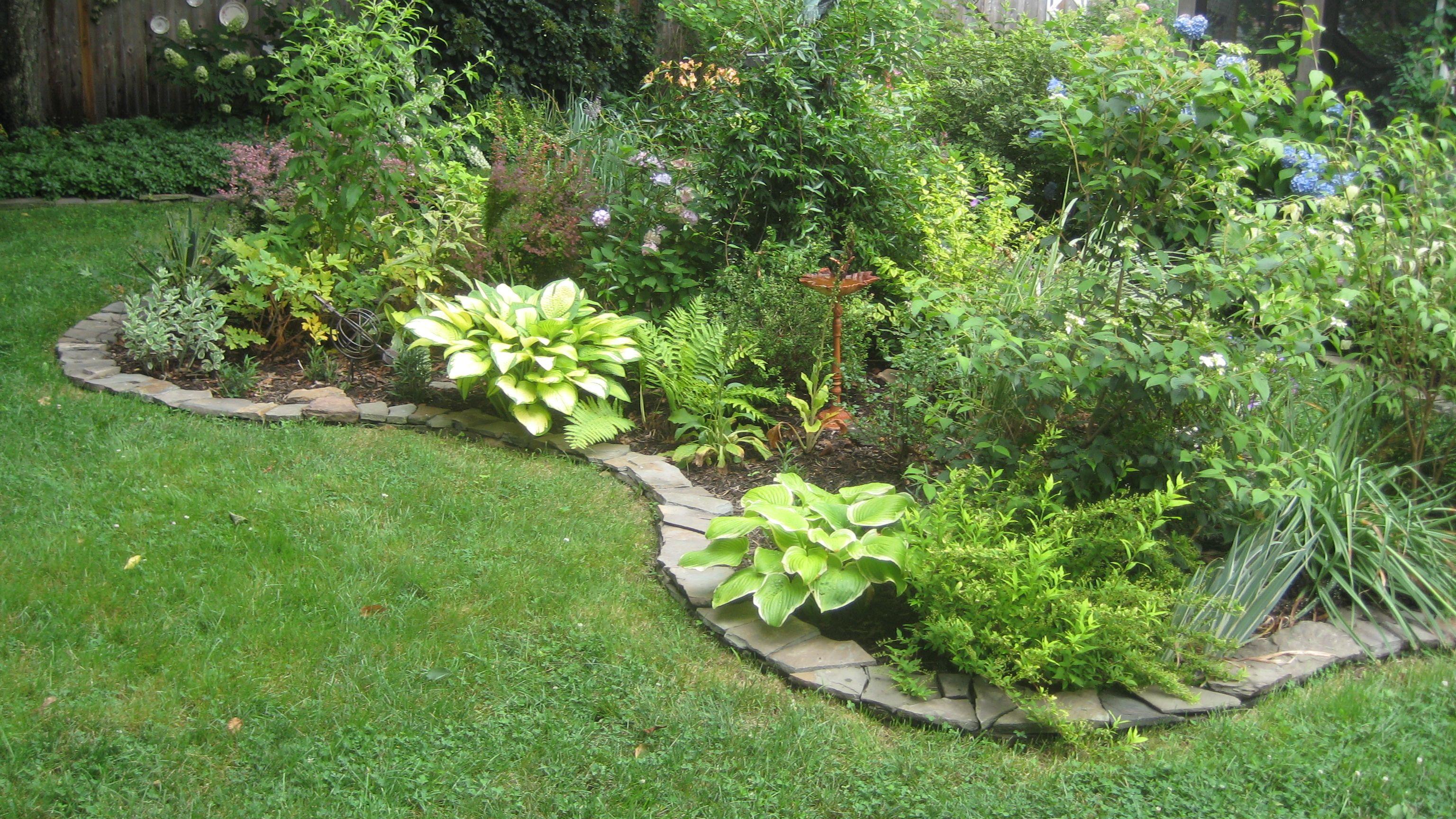 Dry stack stone wall edging garden design edging pinterest dry stack stone wall edging workwithnaturefo