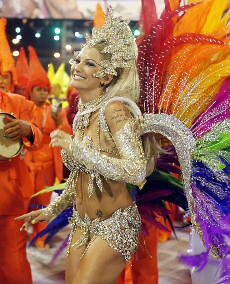 985d6b3fd1a4d Rio Carnival Two Million Party on the Streets. Rainbow samba #samba #rio # costume
