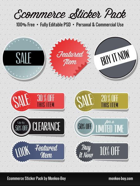 Freebie ecommerce sticker pack free web ui elements pinterest ecommerce free ecommerce and design web
