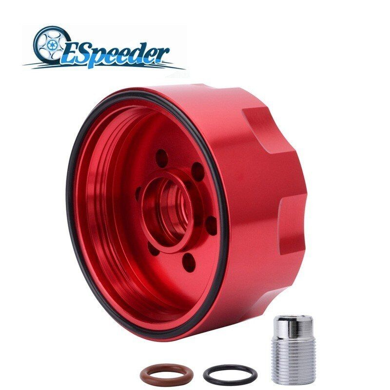 Espeeder Car Parts Aluminum Alloy Diesel Fuel Filter Adapter For