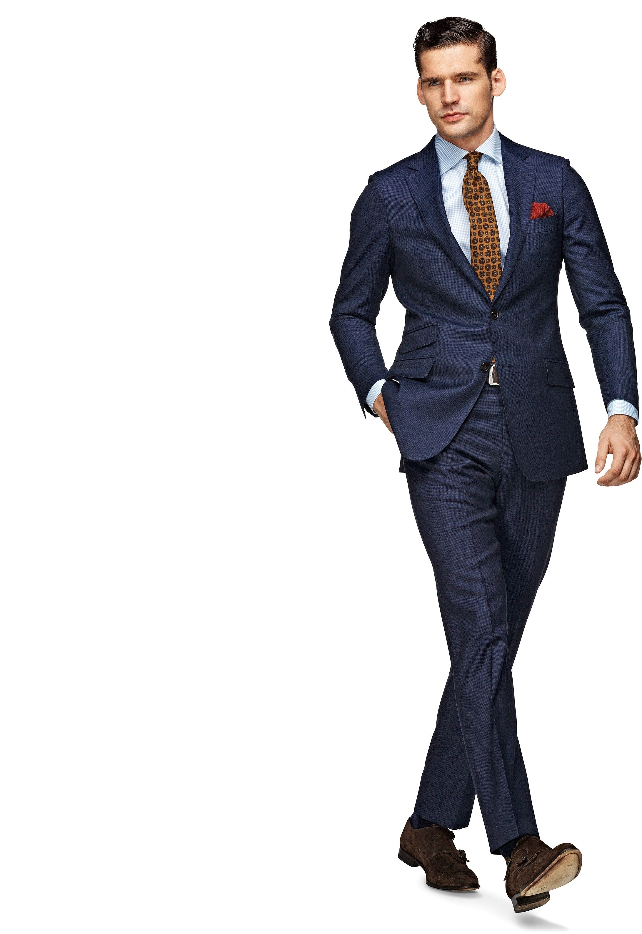 52f008923 Suit Blue Plain Sienna P3485 | Suitsupply Online Store | men's wear ...