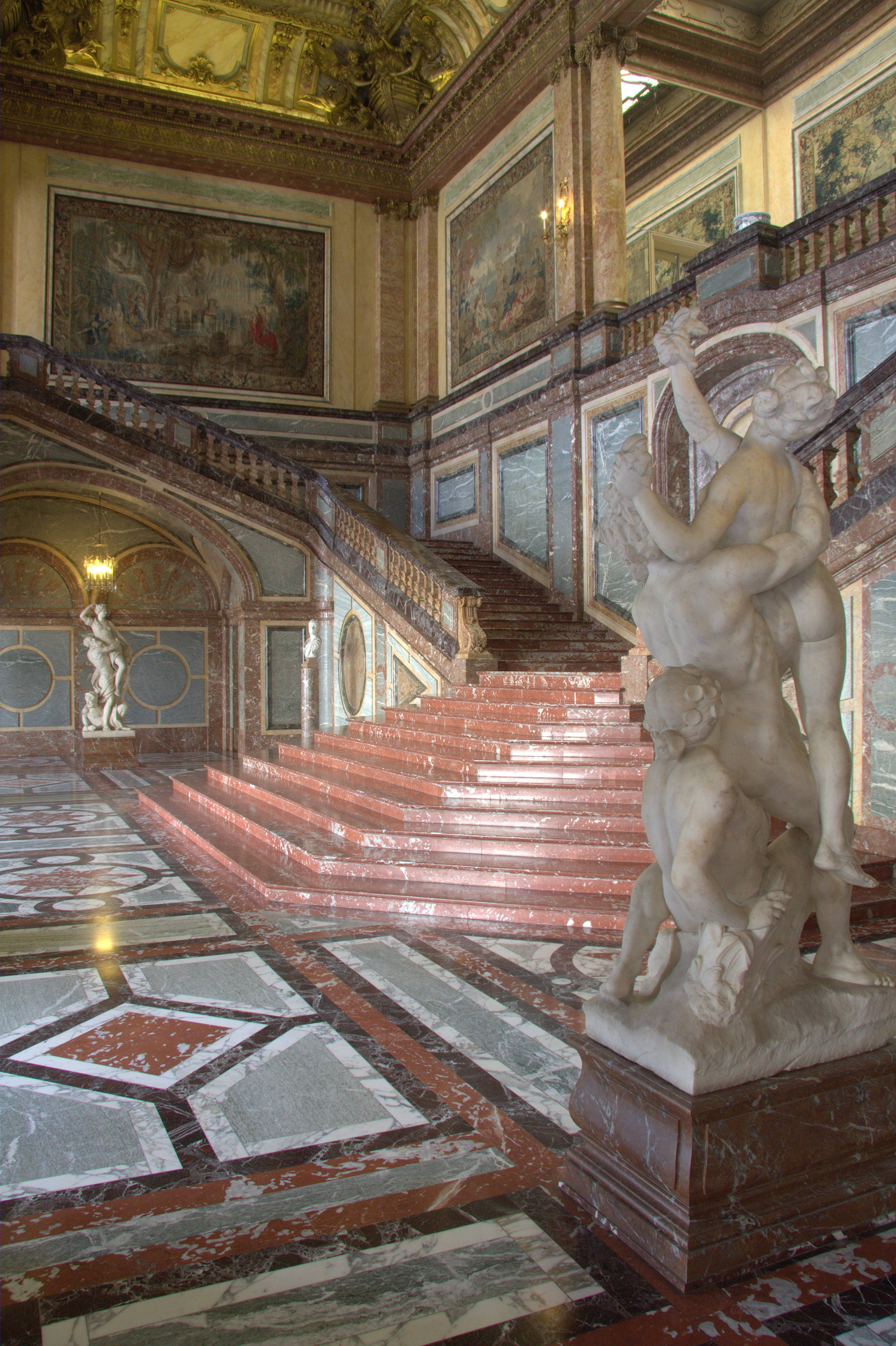 palace of versailles stairs Google Search …