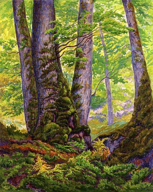 Paul Ranson - Three Beeches (ca. 1905)