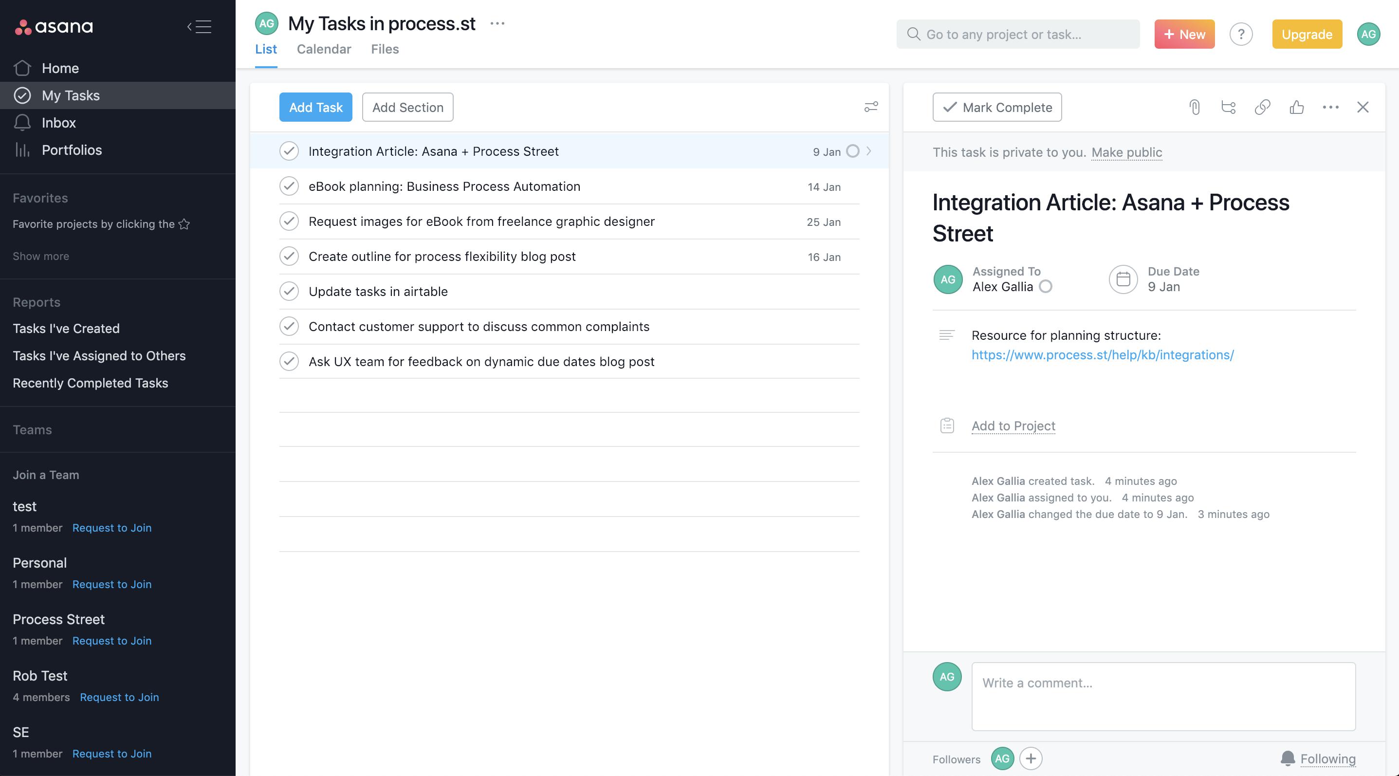 Asana Project Management Software Project Management Project Management Tools Smartsheet
