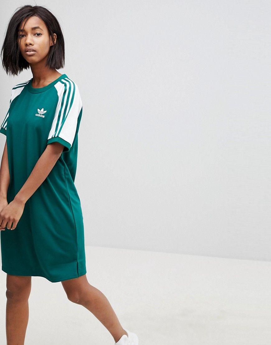 41d59b7dc98221 ADIDAS ORIGINALS . #adidasoriginals #cloth # Adidas Dress, Manga Raglan,  Manches Raglan