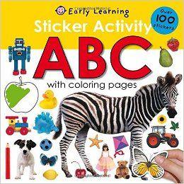 Amazon Com Sticker Activity Abc Sticker Activity Fun 9780312504830 Roger Priddy Books Knigi