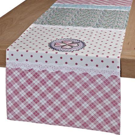 patchwork tischl ufer table runner. Black Bedroom Furniture Sets. Home Design Ideas