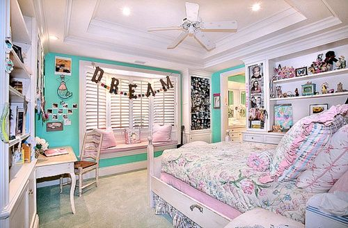 Love the colours and the dream letters Bedrooms Pinterest