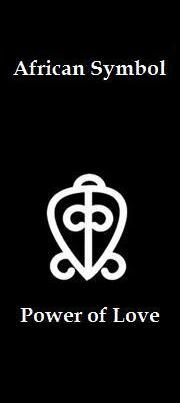 3 African Symbol That Means The Power Of Love Simbolo Africano