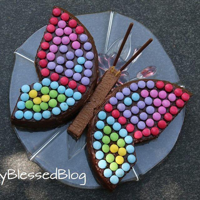 Die coolsten Geburtstagskuchen: Der Schmetterling | DoublyBlessedBlog