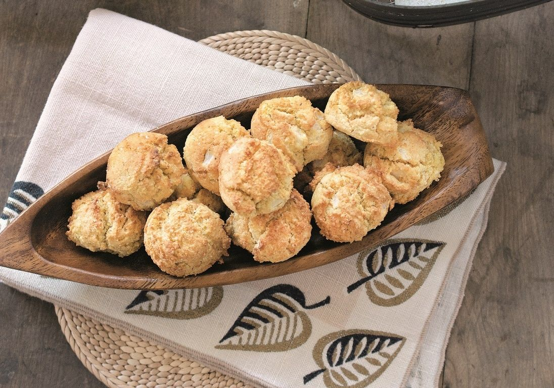 Enjoy this recipe for vegan southern airfried hush