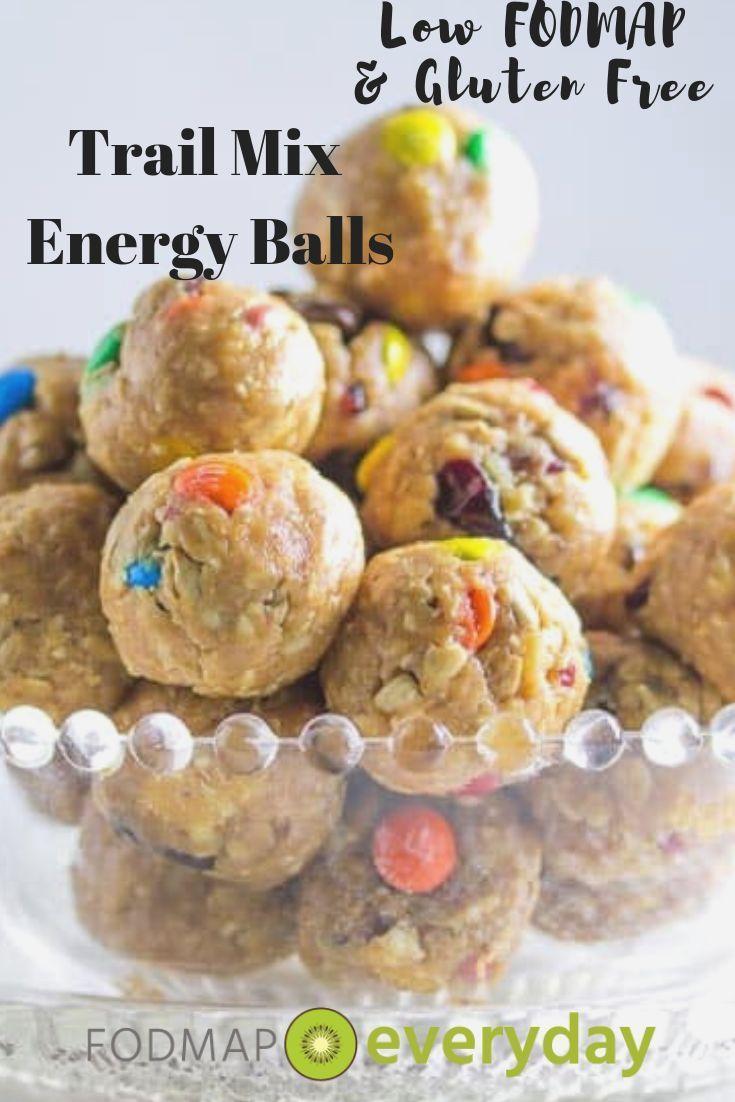 Low FODMAP Trail Mix Energy Balls
