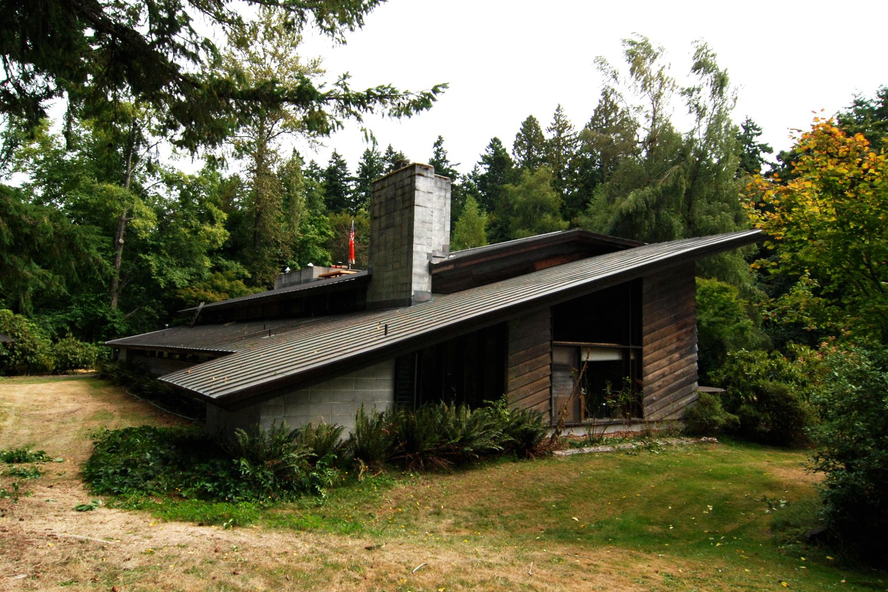 Northwest usonian part iii usonian tacoma washington for Frank lloyd wright parents