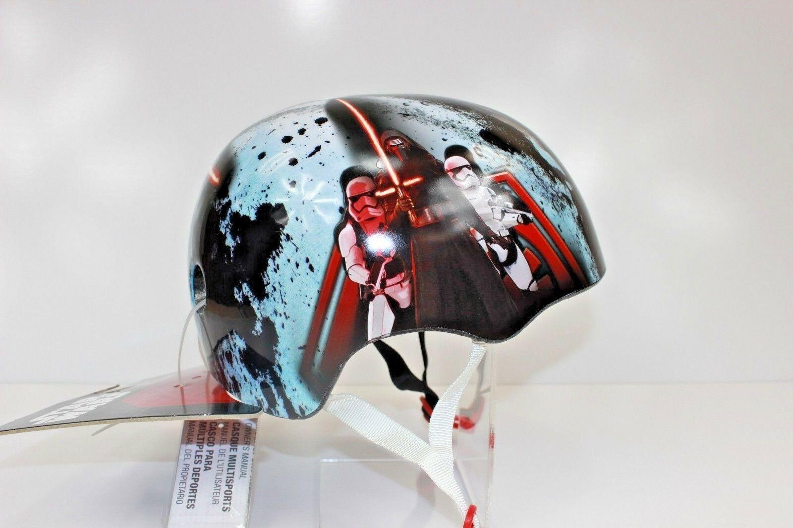 New Bell Star Wars Kylo Ren Kids Skate Bike Helmet Sz Small Y 50
