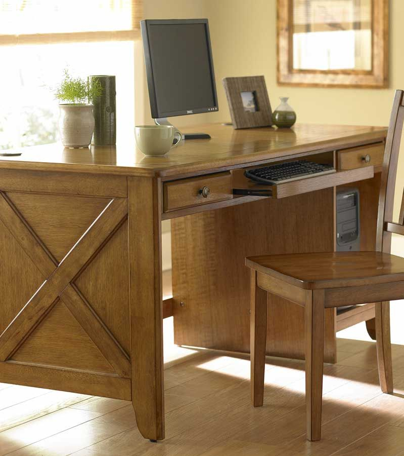 Homelegance Britanica Writing Desk KD In Oak