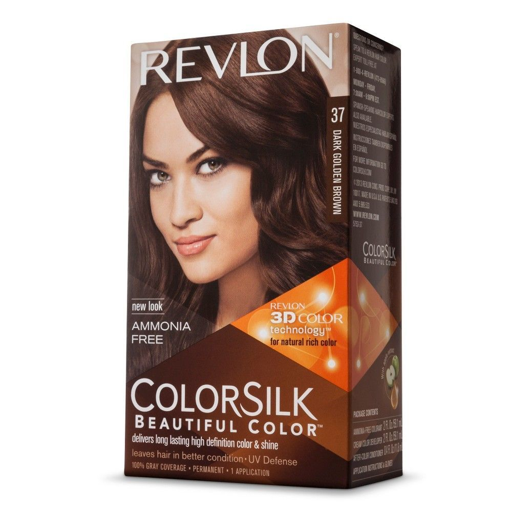 Revlon Colorsilk Beautiful Color Dark Golden Brown 1 Kit