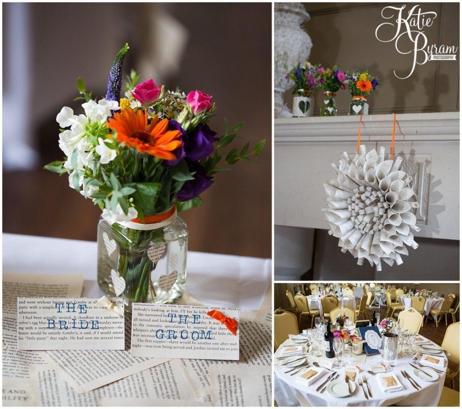 A Literary Love: Chris & Katy's Book Themed Wedding At