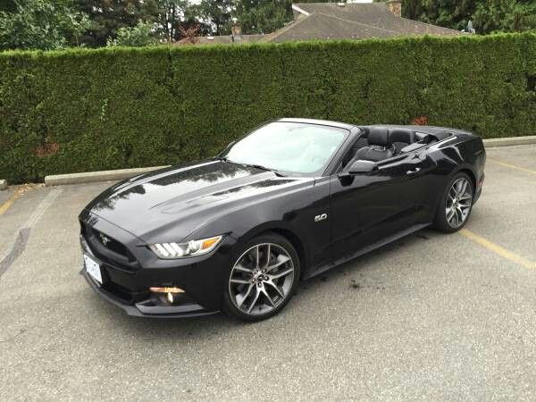 2015 Mustang Gt Convertible In Tripple Black Mustang Convertible