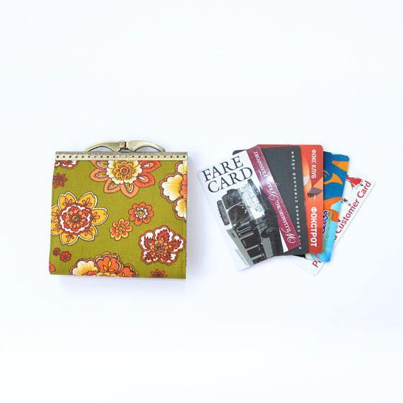 Card holder wallet, fold card case, woman wallet credit card holder ...