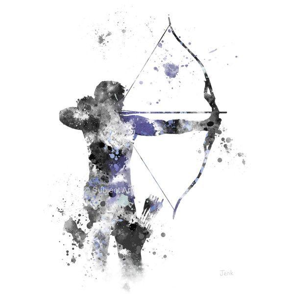 Hawkeye ART PRINT illustration, Superhero, Marvel, Avengers, Home ...