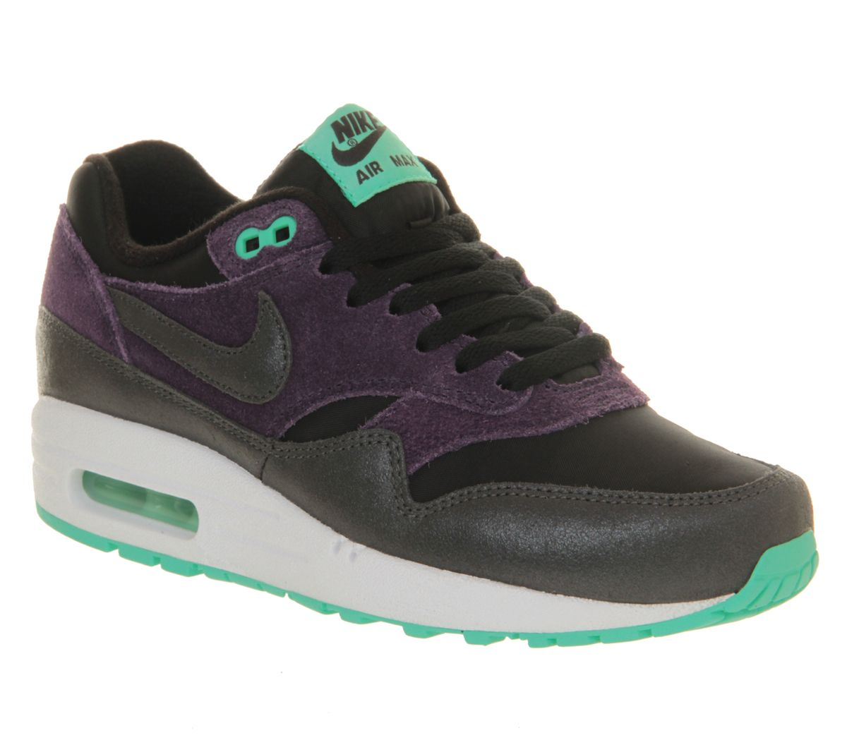 air max 1 black purple mint