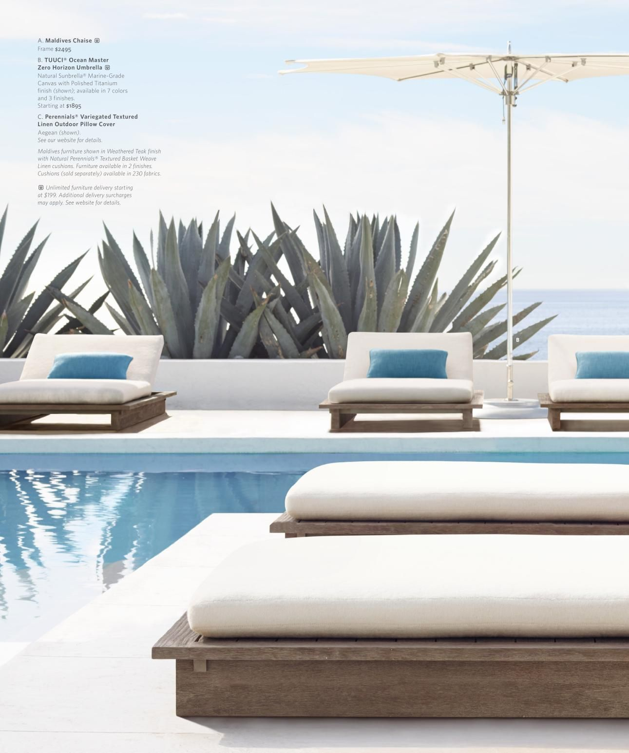 Rh Source Books Pool Houses Modern Outdoor Furniture Outdoor Furniture Decor Modern outdoor pool furniture