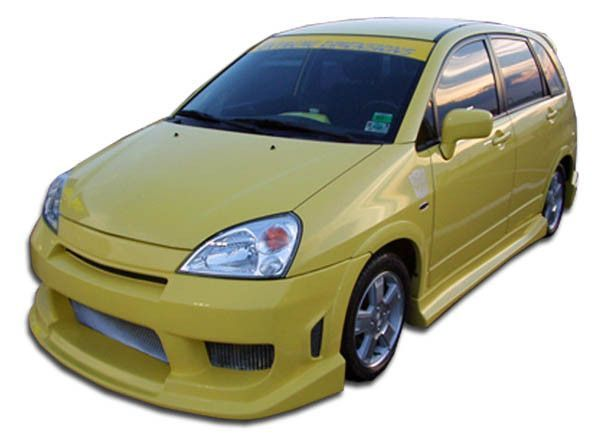 2003 2006 Suzuki Aerio Duraflex Sx Drifter Body Kit 4 Piece Body Kit Suzuki The Body Shop