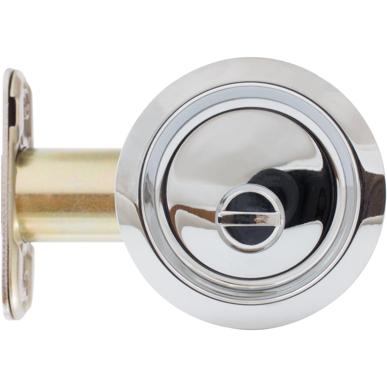 Round Pocket Door Lock Bed Bath Privacy Latch Bathroom Door Handles Pocket Door Lock Pocket Doors
