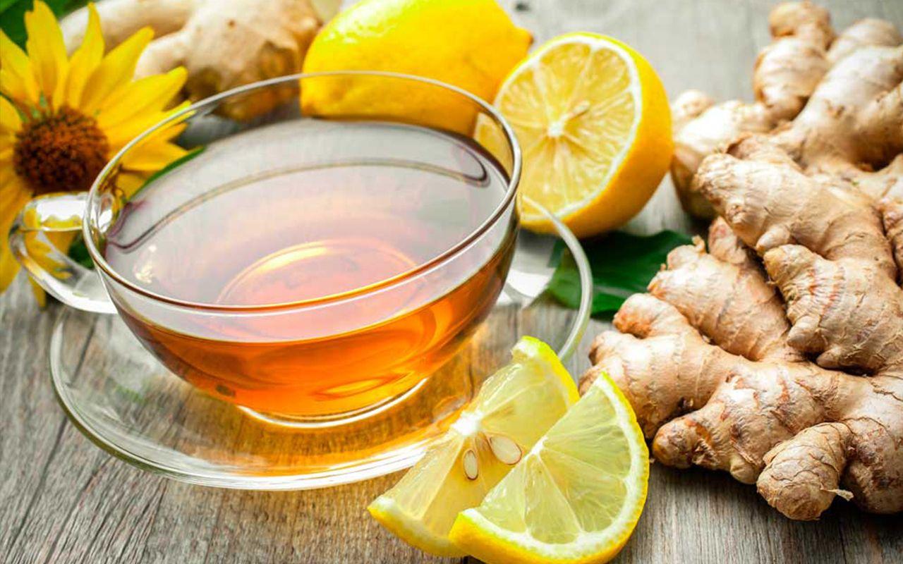 чай с имбирным порошком рецепт