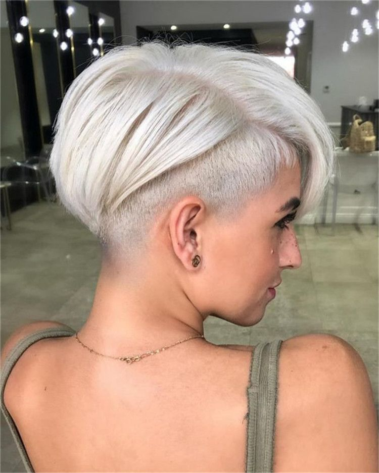 2020 Short Hair Trends.Fashion Short Hair 2019 2020 Super Creative Trends New