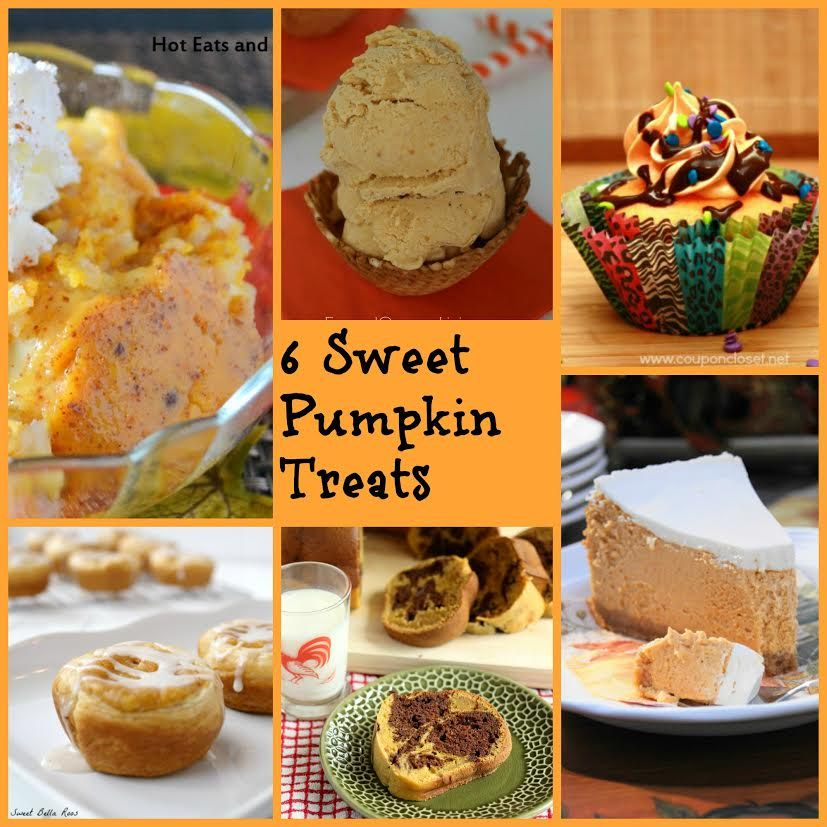 Autumn is a wonderful time of year. The air is crisp, the leaves are crunchy and colorful and pumpkin goodies are abundant. I found 6 fantastic sweets made with pumpkin to share with you, just in …
