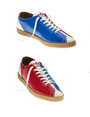 Adidas bowling shoe by Jeremy Scott