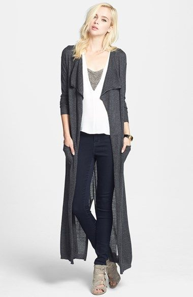 Leith Drape Front Duster Cardigan available at #Nordstrom | My ...