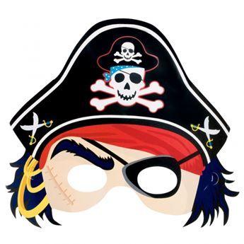Ver Detalles De Antifaz Pirata Fiesta De Cumpleanos Pirata