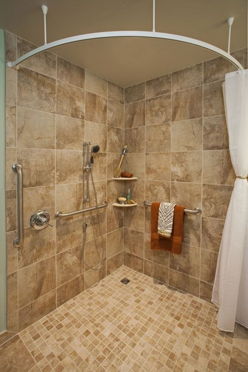 universal design bathroom measurements - Google Search Home Decor